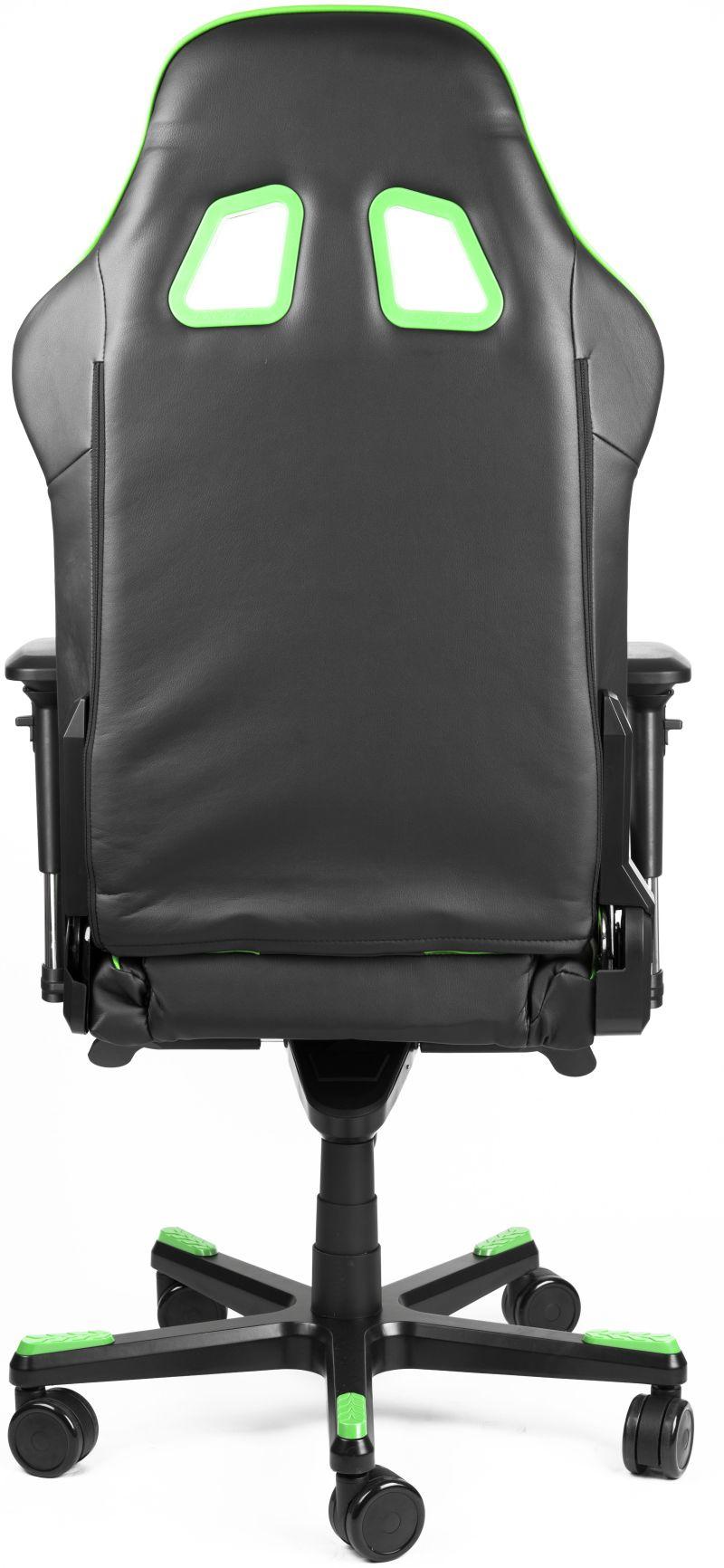 DXRacer King Series Black/Green Gaming Chair