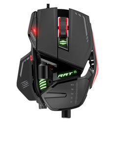 Mad Catz Rat 8 Black Gaming Mouse