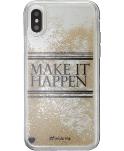 Cellularline Stardust Make It Happen Case for iPhone X