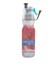O2Cool Pattern 2 Water Color Collection 20 Oz Water Bottle