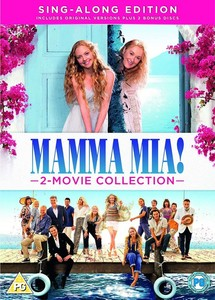 Mamma Mia: 2 Movie Collection [Sing Along Edition][4 Disc Set]