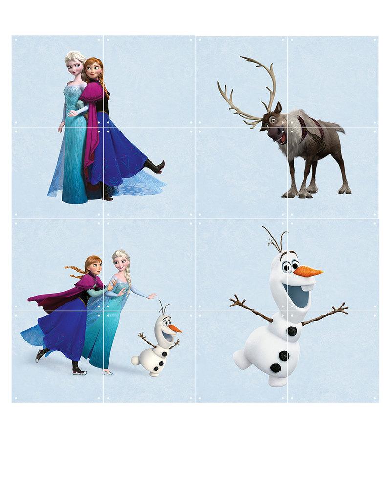 Frozen Wall Decor Kit : Ixxi disney frozen world wall decoration artwork and