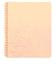 Ban.Do Rough Draft Speckle Apricot/Lilac Large Notebook