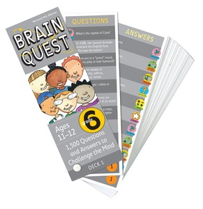 Brain Quest Grade 6 Revised 4Th Ed