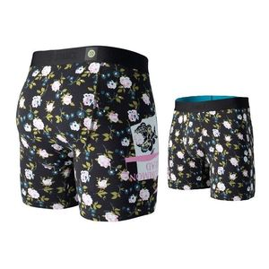Stance Ditzy War Boxer Youth Boys Underwear Black L