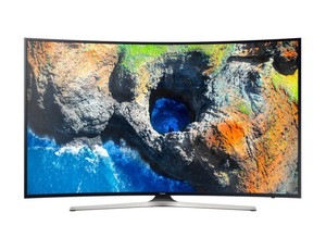 "Samsung 65"" Curved UHD LED Smart TV MU7350 Series"