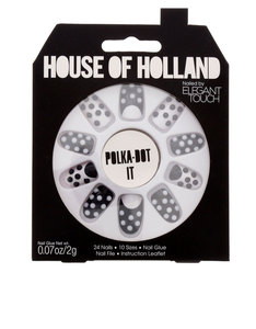 Elegant Touch House Of Holland Polka Dot Nails