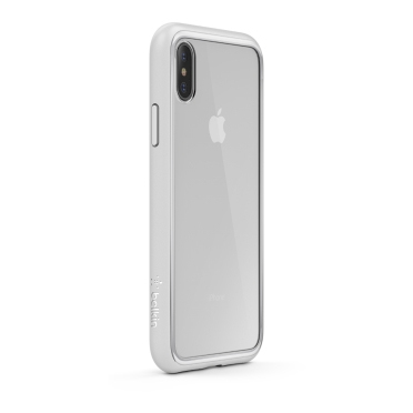 various colors f8531 8c8a4 Belkin Sheerforce Elite Protective Case Silver For iPhone X
