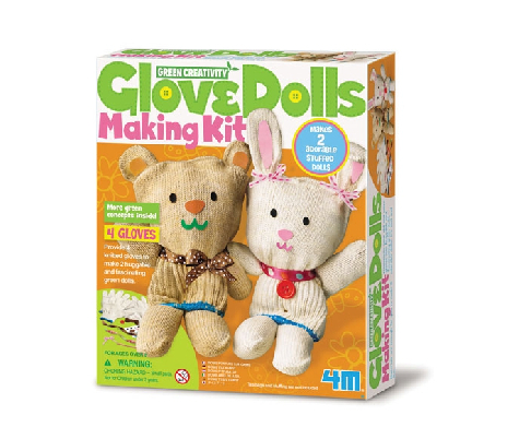 4M Glove Dolls Making Kit
