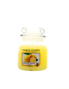 Yankee Candle Classic Medium Jar Sicilian Lemon