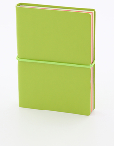 Ice London Mini Notebook Lime