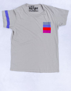 Freecity Lnl Strike Pocket Silver Cloud T-Shirt