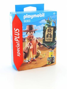 Playmobil Cowboy with Wanted Poster