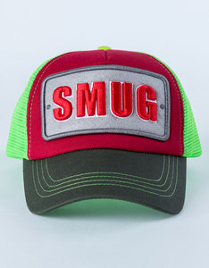 B180 Smug Red/Green Unisex Cap