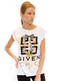Life Is A Circus Givenchic White Women's T-Shirt