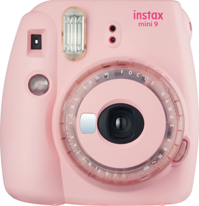 Fujifilm Instax Mini 9 Clear Pink Instant Camera