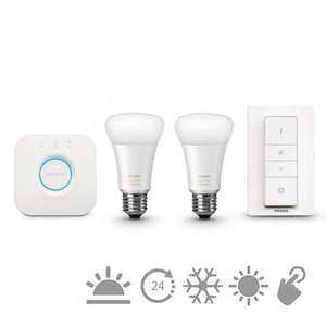 Philips E27 Hue White Ambiance Starter Kit