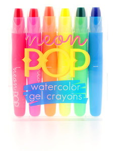 International Arrivals Neon Glo/Day Glo Gel Crayon Sticks