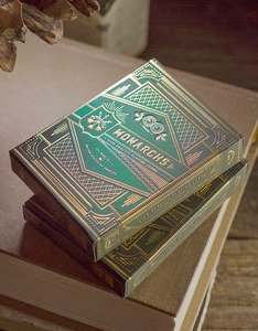 THEORY11 MONARCH GREEN PLAYING CARDS