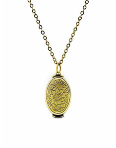 Oh Hello Friend Folding Locket Necklace