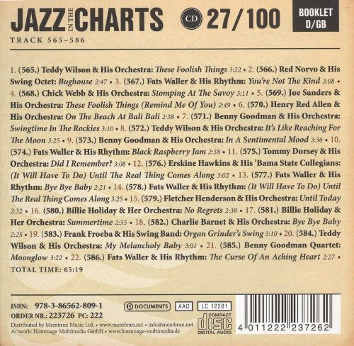 JAZZ IN THE CHARTS VOL. 27 | Jazz + Blues | Music | Virgin Megastore