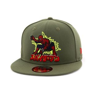 New Era Marvel Spiderman 80th Men's Cap Olive