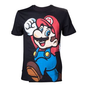 Nintendo Super Mario Black Men's T-Shirt