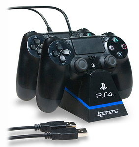4Gamers Dual Charge N' Stand Ps4