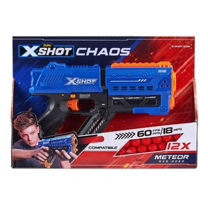 X-Shot Chaos Meteor Blaster [Includes 12 Darts]