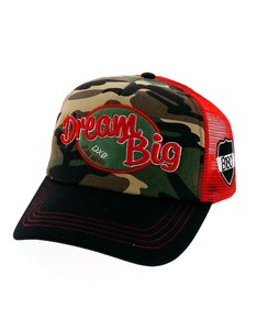 B180 Dream Big Camouflage Cap