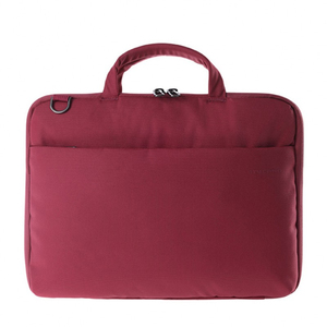 TUCANO DARKOLOR SLIM BAG RED FOR LAPTOPS UP TO 14-INCH