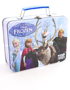 Top Trumps Frozen Card Game Collectors Tin English & Arabic