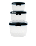 Miss Etoile Black Bow Container Set Of 3