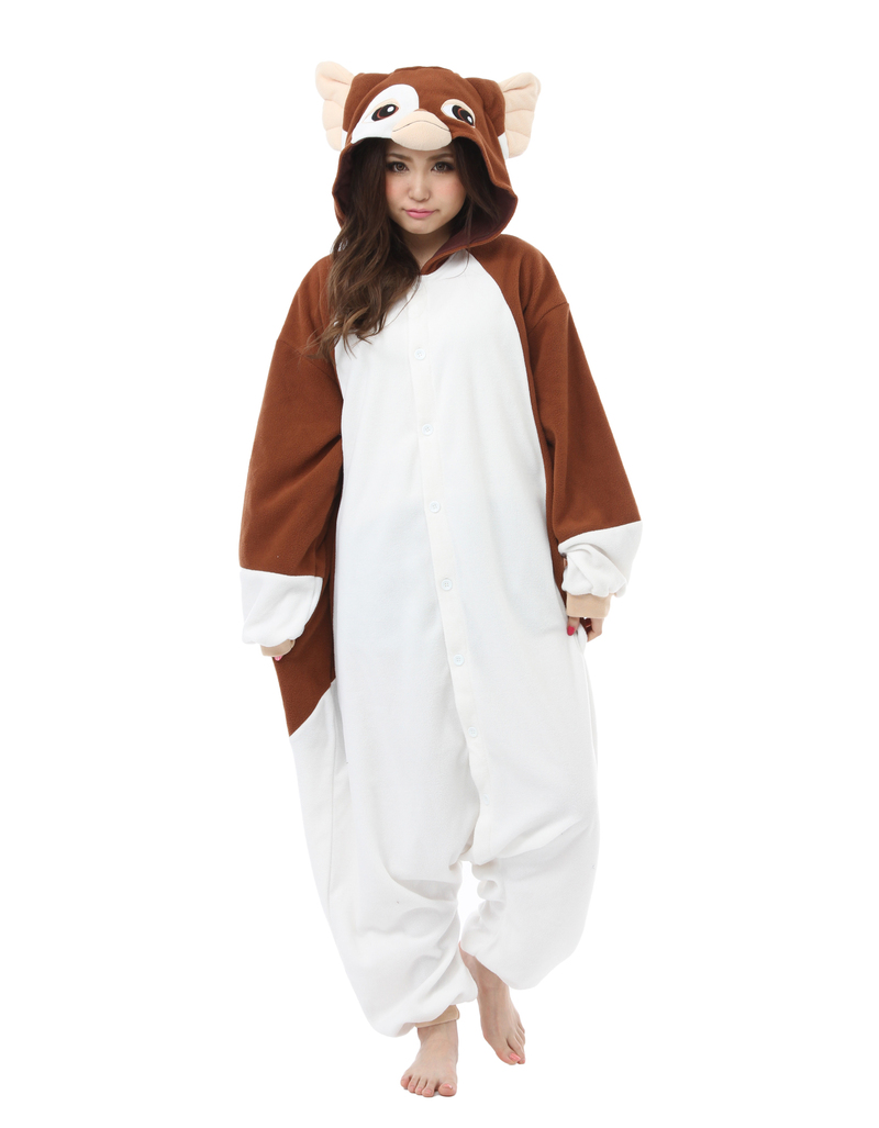 Gizmo Kigurumi Adult Fleece Costume