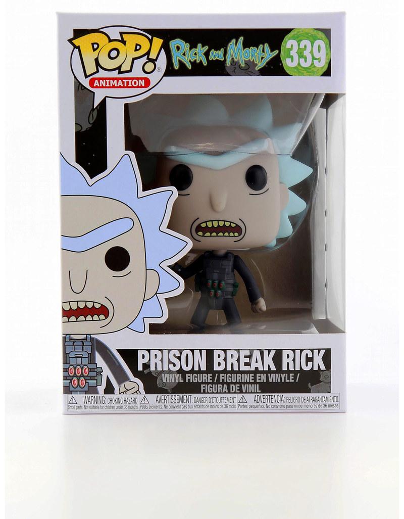 Funko Rick /& Morty Prison Escape Rick Brand New In Box POP Animation