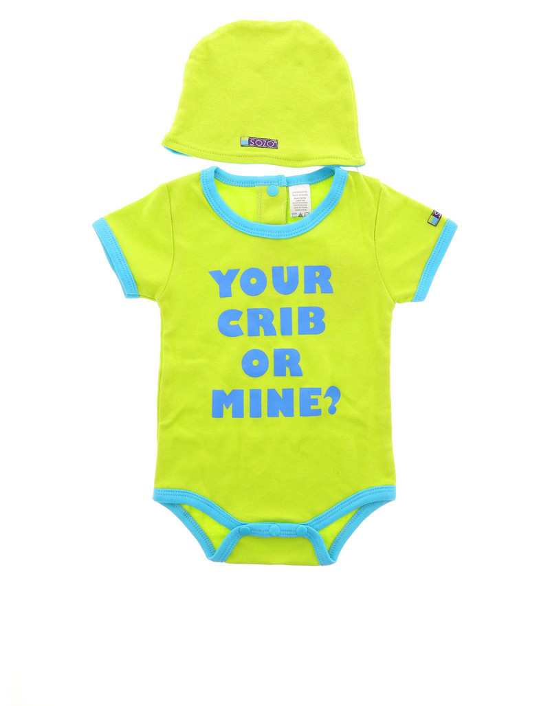 Your Crib Bodysuit Set 3-6M