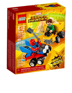 Lego Mighty Micros Scarlet Spider VS Sandma 76089