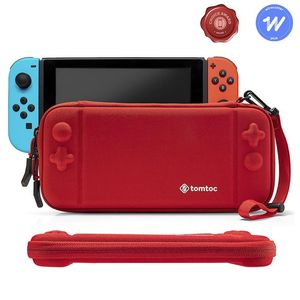 tomtoc Slim Hard Case Red for Nintendo Switch