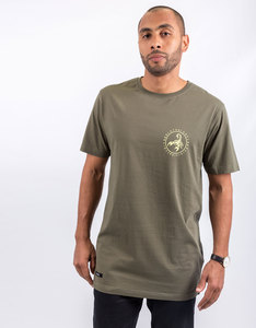 Cayler & Sons Frdm Long Scallop Back Olive T-Shirt