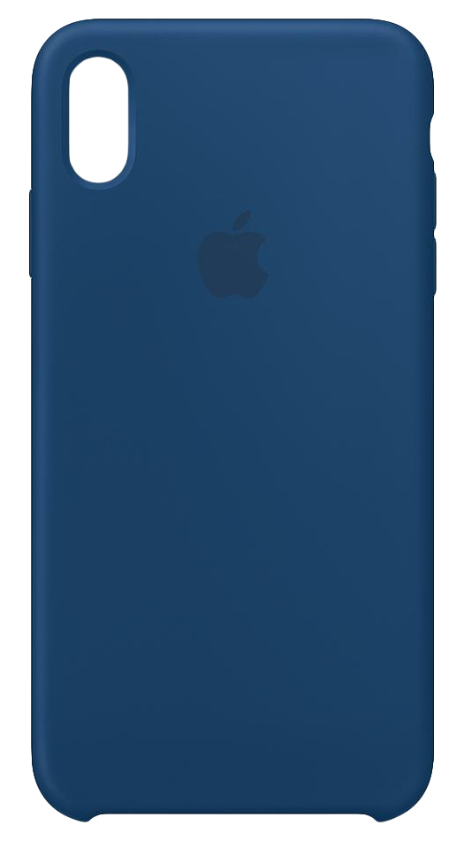 buy popular ac0fc 74487 Apple Silicone Case Blue Horizon for iPhone XS Max