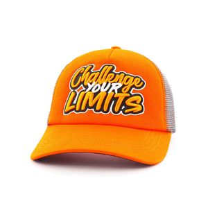 B180 Challenge Your Limit Men's Cap Orange/Grey