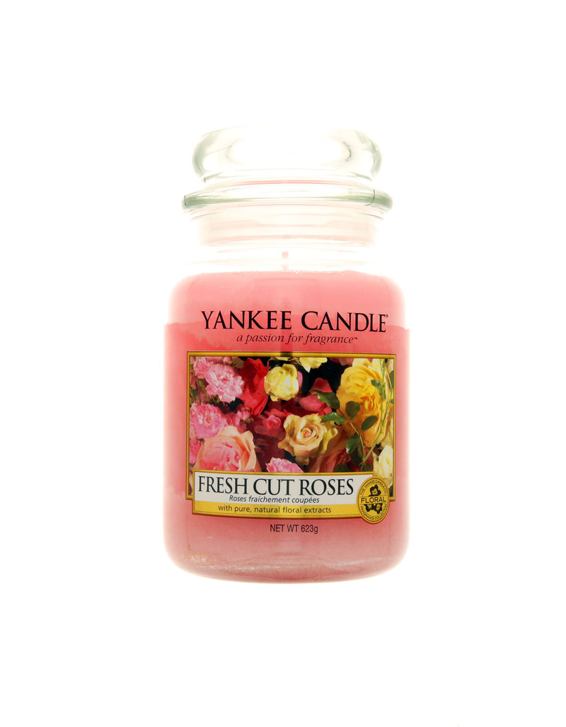 Yankee Candle Classic Large Jar Fresh Cut Roses