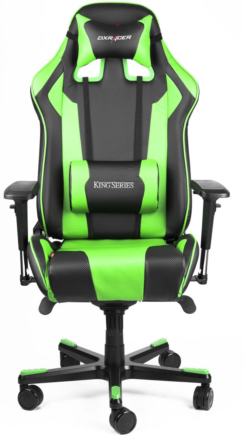 Dxracer King Series Blackgreen Gaming Chair Gaming Chairs