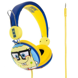 Mr Men & Little Miss Spongebob Geek Bob Headphones