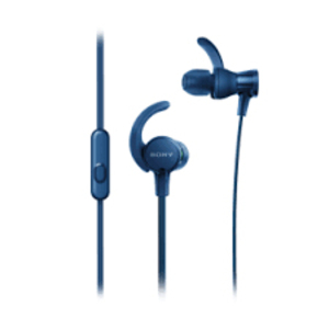 Sony MDR-XB510AS Blue Sports Extra Bass In-Ear Earphones