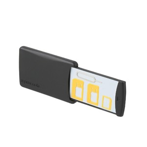 Promate Cellukit Black 4-in-1 Sim Card Holder