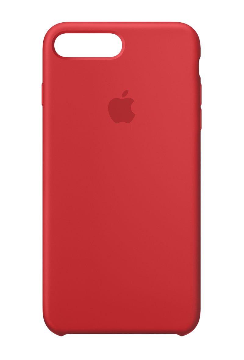 the latest 96ac2 a1d88 Apple Silicone Case (Product)Red for iPhone 8 Plus/7 Plus