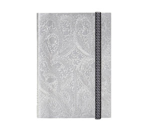 Christian Lacroix A5 Paseo Silver Notebook