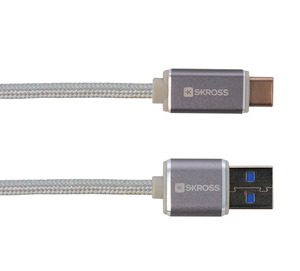 Skross Steel Line Charge N Sync USB Type-C Cable