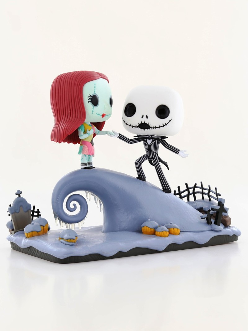 Funko Pop Nightmare Before Christmas Movie Moment Jack & Sally On ...